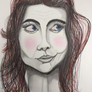 portrait rose aux joues-patrice vannicatte