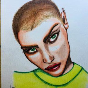 portrait punk or alien?-patrice vannicatte