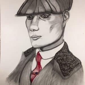 portrait thomas shelby -patrice vannicatte
