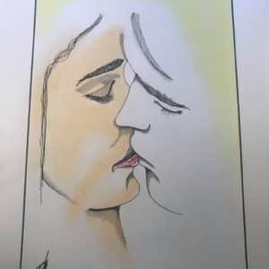 tendre baiser-Patrice Vannicatte