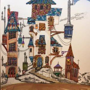 Le château d'eau-Patrice Vannicatte