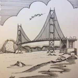 Golden Gate -Patrice Vannicatte