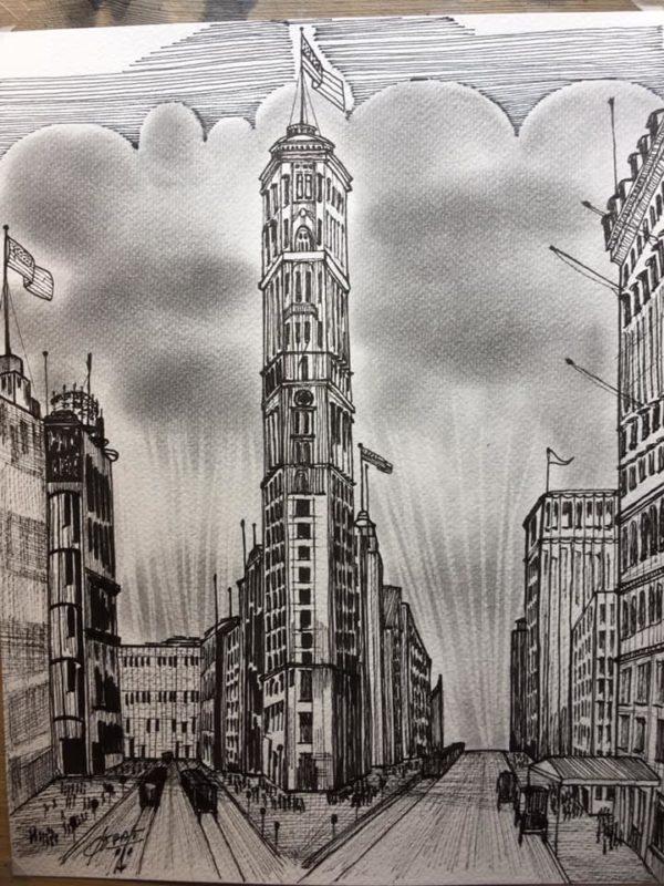 Building le Flatiron à New York - Patrice Vannicatte