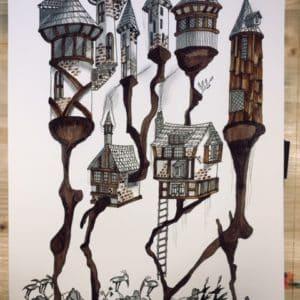 Le château destructuré-Patrice Vannicatte