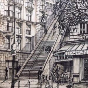 Une Halte à Montmartre-Patrice Vannicatte