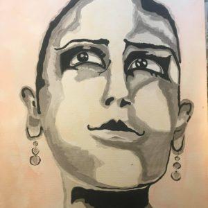 Portrait Josephine Baker-Patrice Vannicatte
