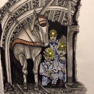 Mineurs et leurs montures-Patrice Vannicatte