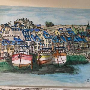 Port de Dahouët-Patrice Vannicatte