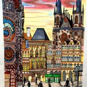 Prague-horloge astronomique-Patrice Vannicatte