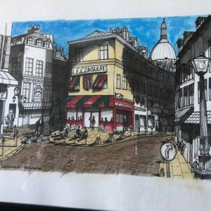 Montmartre café du consulat-Patrice Vannicatte